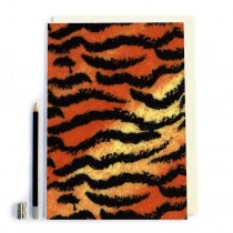 Tiger Style Print Notebook