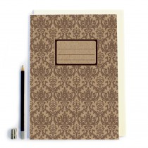 Brown craft Notebook