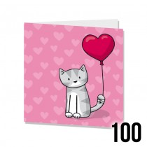 Small SQ Bulk Cards 100