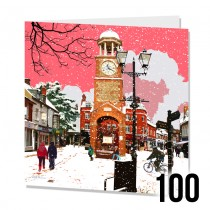 Large SQ Xmas Cards Bulk 100
