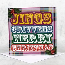 Scots Speak-Jings Crivvens Xmas