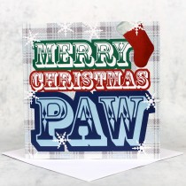 Scots Speak- Merry Xmas Paw