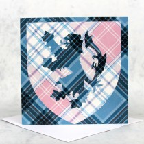 Tartan Rampant Greeting Card