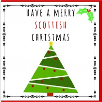Personalise-Xmas Tree Card