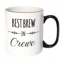 Best Brew Black Handled Mug