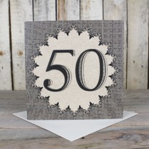 50th Eco Birthday Card