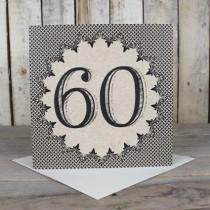 60th Eco Birthday Card