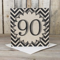 90th Eco Birthday Card