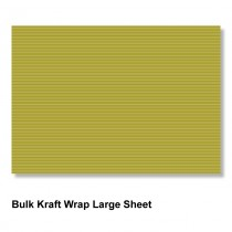 Kraft Wrap Large Sheet