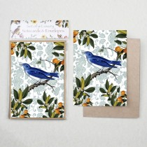 Watercolour Bluebird Notecard