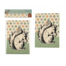 Eco Squirrel Notecard