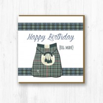 Kilty Birthday Card