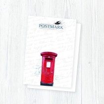 Postmark Smooth White Envelopes