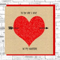 Eco Love You Card-One I Love