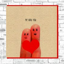 Eco True Love Card-Me&You;