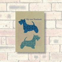 A6 Eco Notebook-Scottie