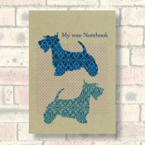 A5 Eco Notebook-Scottie