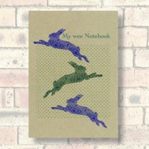A5 Eco Notebook-Hares