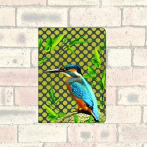 A6 Notebook-Kingfisher