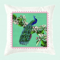 Cushion-Peacock (with inner)