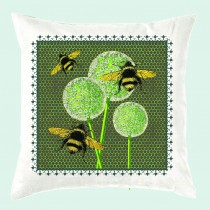 Cushion-Butterfly & Bees (with inner)