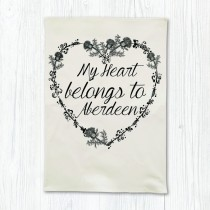 My Heart Belong Tea Towel