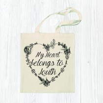 Heart Belongs Cotton Shopper