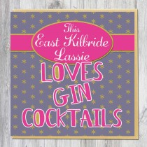 Greeting Card-Gin Cocktails