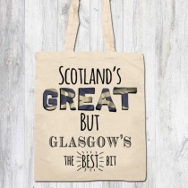 Scotlands Great Ivory Bags & Tag