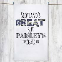 Scotlands Great Tea Towel & Tag