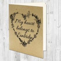 Heart Belongs Eco Jotter