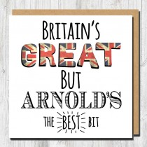 Britains Great Greeting Card