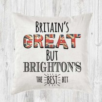 Britains Great Soft Touch Velvet Cushion (with inner)