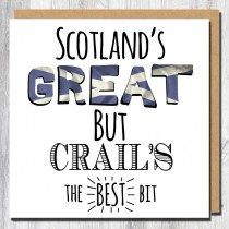 Scotland Great Greeting Card