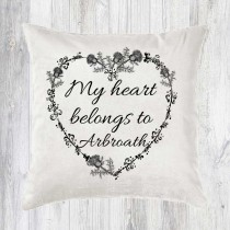 My Heart Belongs Cushion