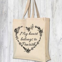 Heart Belong Gusseted Bag + Tag
