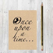 A6 Eco Notebook-Once Upon