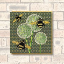 Greeting Card-Bees