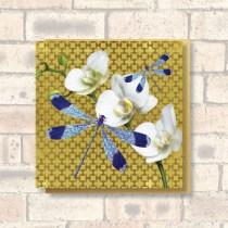Greeting Card-Dragonflies