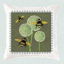 Cushion-Butterfly & Bees +Tag