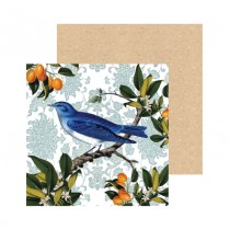 Watercolour Bluebird Greeting Card