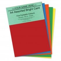 P -Assorted Bright Card 160gsm