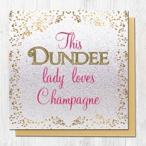 Champagne Greeting Card