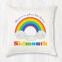 Rainbow Cushion+Tag