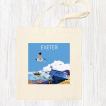 Coastal 1 Cotton Shopper+Tag
