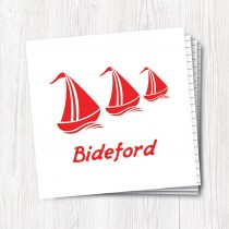 Red Sail Boat Wiro Notebook