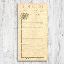 Magnetic Pad Shopping Lists