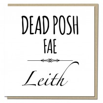 Dead Posh Greeting Card