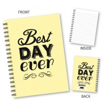 Best Day Ever' Wiro Notebook