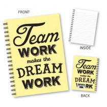 Team Work' Wiro Notebook